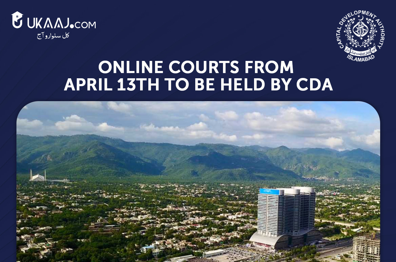 Online Courts from April 13th to be held by CDA