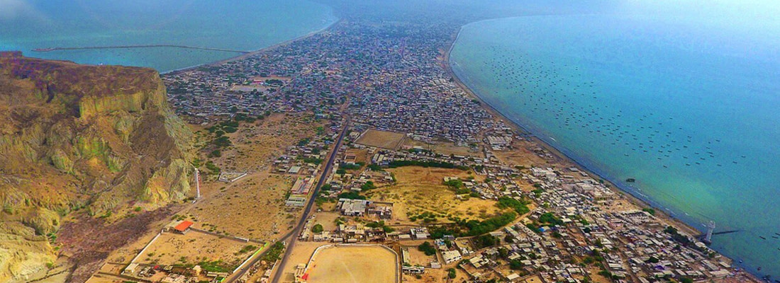 ARAMCO's MASTERPLAN OF AN ENTIRE OIL CITY, IN GWADAR BY END OF THIS YEAR.