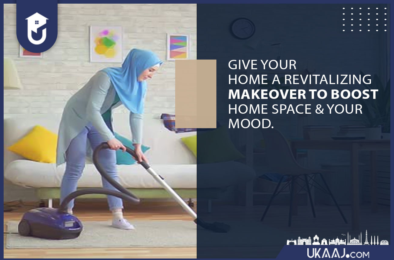 Give your home a revitalizing makeover to boost home space & your mood