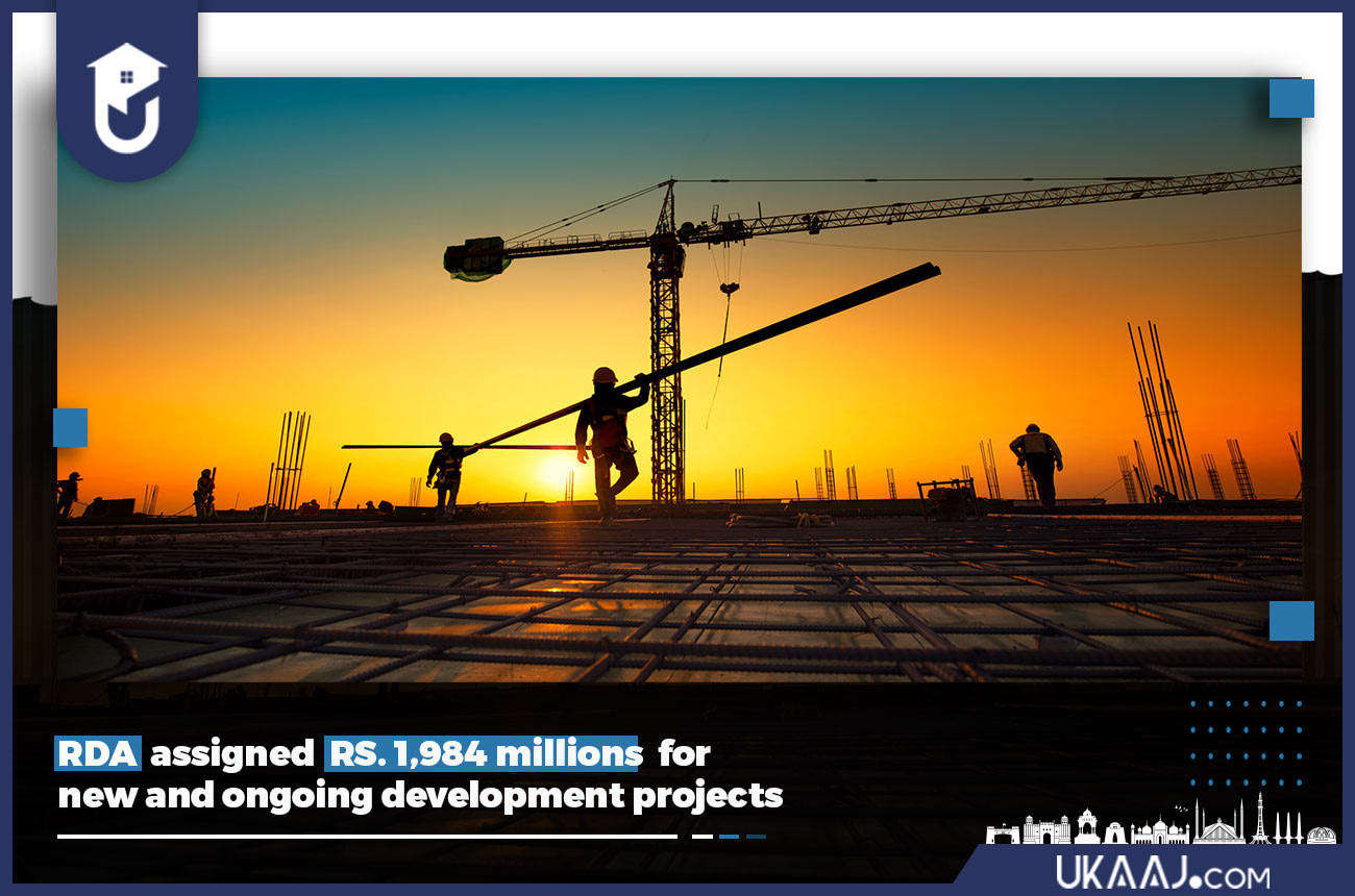 RDA assigned RS 1,984 millions for new and ongoing development projects