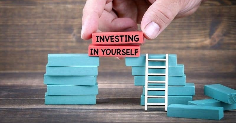 INVEST IN YOUR OWN BEING