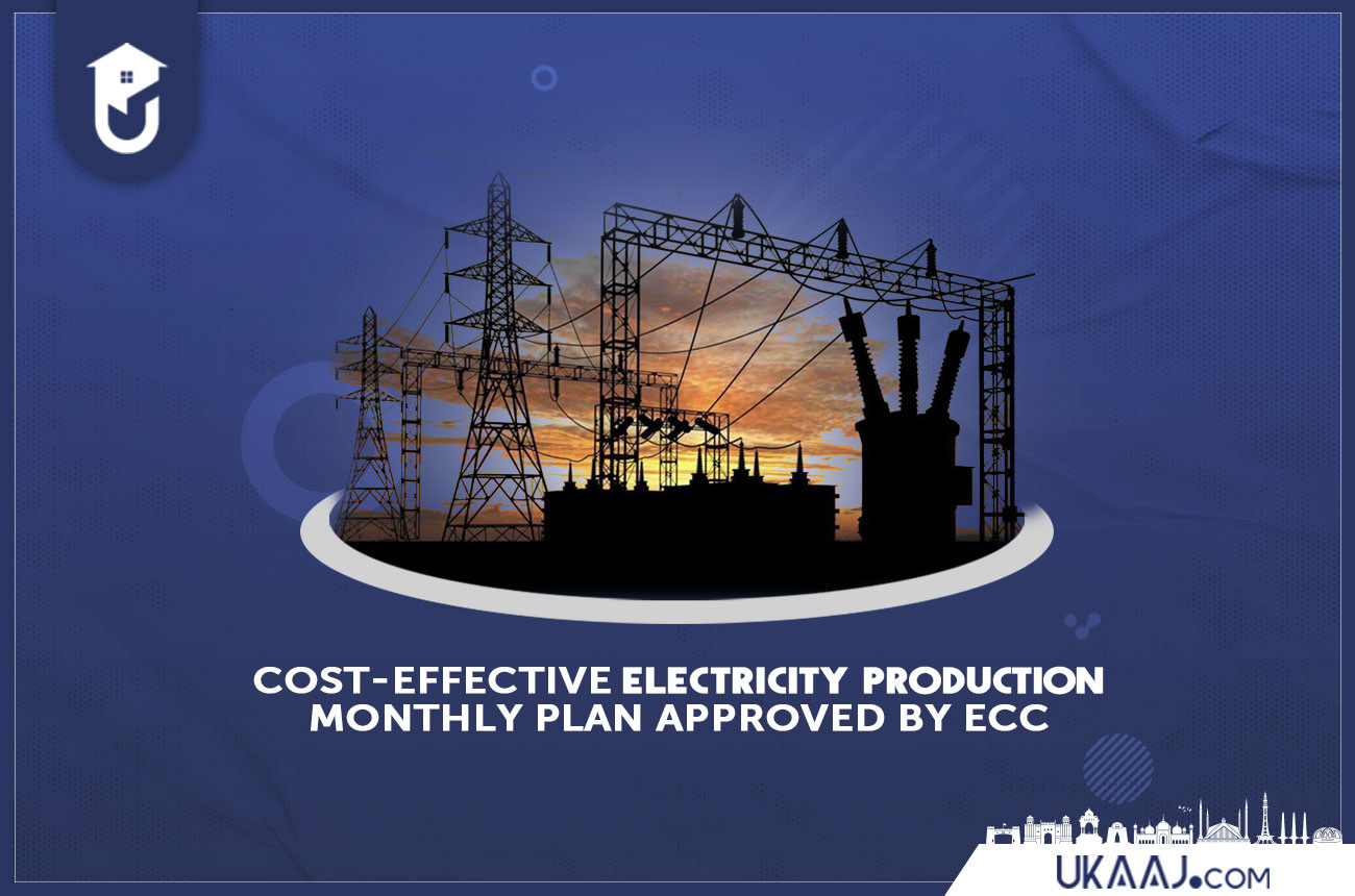 Cost-Effective Electricity Production Monthly Plan approved by ECC